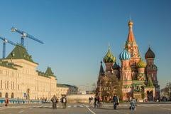 Μόσχα, κόκκινη πλατεία, Στοκ εικόνα με δικαίωμα ελεύθερης χρήσης