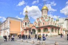 Μόσχα κόκκινο τετράγωνο arhitektury ιστορικό kazan καθεδρικών ναών μνημείο Στοκ εικόνα με δικαίωμα ελεύθερης χρήσης