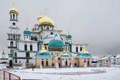 Μόσχα μοναστήρι νέα Ρωσία της Ιερουσαλήμ Ιούνιος του 2007 23$ο Ο καθεδρικός ναός αναζοωγόνησης Στοκ Φωτογραφίες