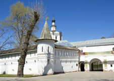 Μόσχα, μοναστήρι spaso-Andronikov Στοκ φωτογραφία με δικαίωμα ελεύθερης χρήσης
