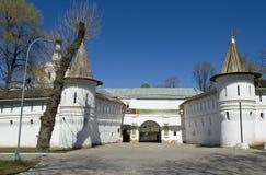 Μόσχα, μοναστήρι spaso-Andronikov Στοκ Εικόνες