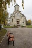 Μόσχα Μοναστήρι spaso-Andronikov Στοκ Φωτογραφίες