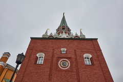 Μόσχα - 15 04 2017: Μόσχα Κρεμλίνο, χειμώνας Στοκ εικόνα με δικαίωμα ελεύθερης χρήσης