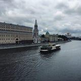 Μόσχα-ποταμός Στοκ εικόνα με δικαίωμα ελεύθερης χρήσης