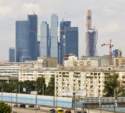 Μόσχα-πόλη Στοκ Εικόνες