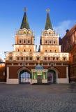 Μόσχα Πύλη αναζοωγόνησης στο κόκκινο τετράγωνο Στοκ Φωτογραφίες