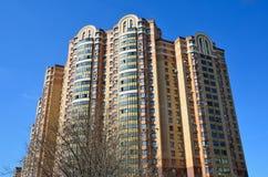 Μόσχα, Ρωσία, 12 Απριλίου, 2016 Κανένας, σπίτι-νέο κτήριο στην οδό Nizhegorodskaya Στοκ φωτογραφίες με δικαίωμα ελεύθερης χρήσης