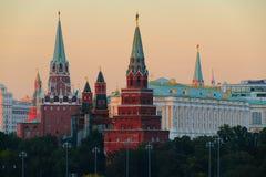 Μόσχα, Ρωσία, η Μόσχα Κρεμλίνο Στοκ Φωτογραφία
