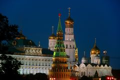 Μόσχα, Ρωσία, η Μόσχα Κρεμλίνο Στοκ Εικόνες
