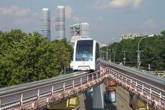 Μόσχα, Ρωσία - 17 Ιουνίου 2016: Κέντρο έκθεσης σιδηροδρομικών σταθμών μονοτρόχιων σιδηροδρόμων της Μόσχας Στοκ φωτογραφίες με δικαίωμα ελεύθερης χρήσης