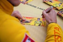 Μόσχα, Ρωσία - 12 Ιουνίου 2016: παγκόσμιο πρωτάθλημα WTCC Raceway της Μόσχας Στοκ εικόνα με δικαίωμα ελεύθερης χρήσης