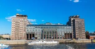 Μόσχα, Ρωσία - 18 Μαΐου 2016 Estrada θέατρο στο εσωτερικό στην προκυμαία Στοκ εικόνες με δικαίωμα ελεύθερης χρήσης