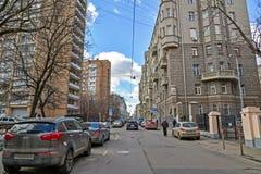 Μόσχα, Ρωσία - 14 Μαρτίου 2016 Αρχιτεκτονική και γενική αλέα Kozenyi εμφάνισης μεγάλη Στοκ Φωτογραφία