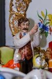 Μόσχα, Ρωσία - 19 Μαρτίου 2017: Εκλεκτής ποιότητας γιατρός ειδωλίων πορσελάνης συλλογής κινηματογραφήσεων σε πρώτο πλάνο στην έκθ Στοκ Εικόνες