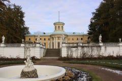 Μόσχα Ρωσία Μουσείο-κτήμα Arkhangelskoye μεγάλο παλάτι Στοκ φωτογραφία με δικαίωμα ελεύθερης χρήσης