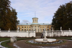 Μόσχα Ρωσία Μουσείο-κτήμα Arkhangelskoye μεγάλο παλάτι Στοκ Φωτογραφίες