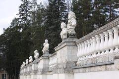 Μόσχα Ρωσία Μουσείο-κτήμα Arkhangelskoye μεγάλο παλάτι Στοκ εικόνες με δικαίωμα ελεύθερης χρήσης