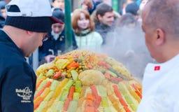 Μόσχα, Ρωσία - 11 Νοεμβρίου 2015: Φεστιβάλ Μαρόκο στη Μόσχα Στοκ Φωτογραφία