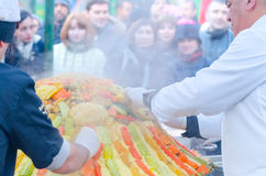 Μόσχα, Ρωσία - 11 Νοεμβρίου 2015: Φεστιβάλ Μαρόκο στη Μόσχα Στοκ φωτογραφίες με δικαίωμα ελεύθερης χρήσης