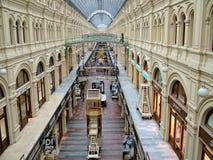 Μόσχα, Ρωσία - 28 Σεπτεμβρίου 2010 - κατάστημα ΓΟΜΜΑΣ Στοκ φωτογραφία με δικαίωμα ελεύθερης χρήσης
