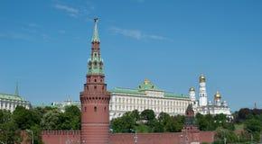 Μόσχα Ρωσία Τοίχος του Κρεμλίνου Στοκ Φωτογραφίες