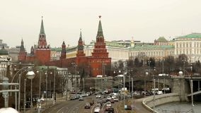 Μόσχα, Ρωσία απόθεμα βίντεο