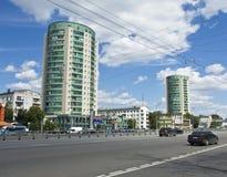 Μόσχα, σύγχρονα κτήρια Στοκ φωτογραφία με δικαίωμα ελεύθερης χρήσης