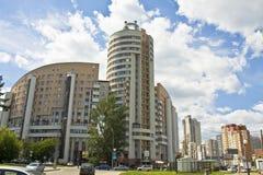 Μόσχα, σύγχρονα buildigs Στοκ Εικόνα