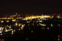 Μόσχα τη νύχτα, 14 πατώματα Στοκ φωτογραφία με δικαίωμα ελεύθερης χρήσης