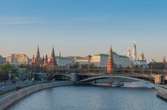 Μόσχα το Κρεμλίνο Στοκ Φωτογραφία
