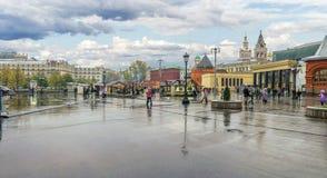 Μόσχα, το τετράγωνο επαναστάσεων Στοκ εικόνα με δικαίωμα ελεύθερης χρήσης