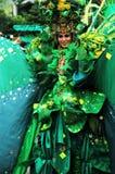 μόδα καρναβαλιού jember Στοκ φωτογραφίες με δικαίωμα ελεύθερης χρήσης