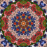 Μόδα Mandala στοκ εικόνα