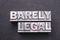 Μόλις νομικός στοκ φωτογραφίες με δικαίωμα ελεύθερης χρήσης