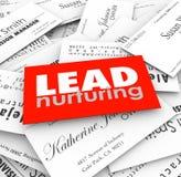 Μόλυβδος που παγιοποιεί τους πελάτες προοπτικών χοανών πωλήσεων επαγγελματικών καρτών απεικόνιση αποθεμάτων