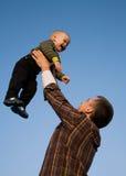 μύγα αγοριών Στοκ εικόνες με δικαίωμα ελεύθερης χρήσης