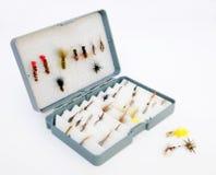 μύγα αλιείας κιβωτίων στοκ εικόνες με δικαίωμα ελεύθερης χρήσης