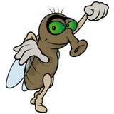 Μύγα κινούμενων σχεδίων Στοκ φωτογραφία με δικαίωμα ελεύθερης χρήσης