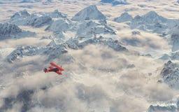 Μύγες αεροσκαφών Στοκ Φωτογραφίες