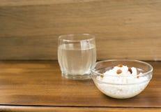 Μύκητας - zooglea «ινδικό θαλάσσιο ρύζι» στοκ φωτογραφία
