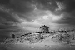 Μύλοι αμμόλοφων άμμου στοκ φωτογραφίες με δικαίωμα ελεύθερης χρήσης