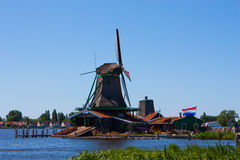 μύλοι της Ολλανδίας στοκ φωτογραφίες με δικαίωμα ελεύθερης χρήσης