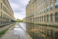 Μύλος και κανάλι αλάτων Στοκ εικόνα με δικαίωμα ελεύθερης χρήσης