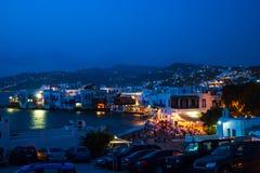 Μύλοι στο ελληνικό νησί στοκ φωτογραφία