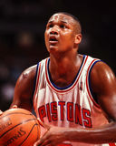 Μύλοι του Terry, Detroit Pistons στοκ φωτογραφία με δικαίωμα ελεύθερης χρήσης