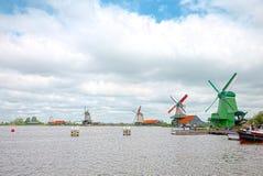 Μύλοι του Zaandam, Κάτω Χώρες στοκ εικόνα με δικαίωμα ελεύθερης χρήσης