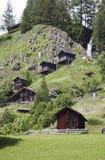Μύλοι Stockmuhlen σε Apriach, Αυστρία στοκ εικόνες με δικαίωμα ελεύθερης χρήσης