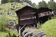 Μύλοι Stockmuhlen σε Apriach, Hohe Tauern στοκ εικόνες με δικαίωμα ελεύθερης χρήσης