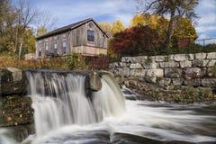 μύλος αλέσματος φθινοπώρ& Στοκ Εικόνες