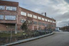 Μύλος εγγράφου Saugbrugs (μέρη του εργοστασίου) Στοκ Φωτογραφίες